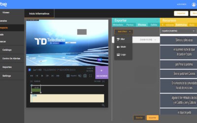 Datos Media integrates Actus for legal copy recordings in the cloud at TVE